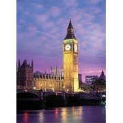 Tomax Big Ben, London 500 Piece Glow-in-the-dark Jigsaw Puzzle by Tomax