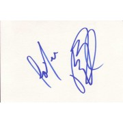 Taylor Dayne Autographed Index Card