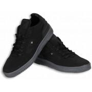 Cash Money Heren Schoenen - Heren Sneaker Mid High - Zwart