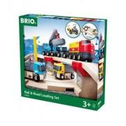 Rail & Road Loading Set (32 PCs): Brio