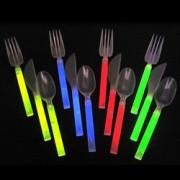 Set di posate luminose fluorescenti STARLIGHT