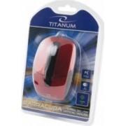 Mouse Esperanza TM108R Titanum Optic 1000DPI Rosu-Negru