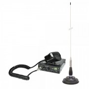 Kit Statie radio CB Midland Alan 100+ si Antena PNI ML100 MID-PACK3