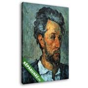 Paul Cézanne: Victor Chocquet portréja (20x25 cm, Vászonkép )