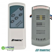 Martec Premier Remote Control Kit - 3 Speed And Light