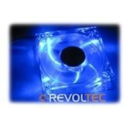 Revoltec LED-Fan - Kit de ventilation pour ordinateur - 120 mm - bleu