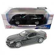 Maisto Mercedes-Benz SL 65 AMG 1:18 Diecast Model Car Black Special Edition