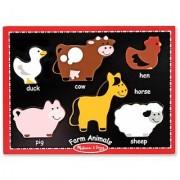 Melissa & Doug First Chunky - Farm Animals