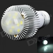 Juangao E27 6W 450lm 6500K 10-LED fresco de la lampara del bulbo de la luz blanca