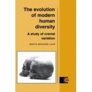 The Evolution of Modern Human Diversity by Marta Mirazon Lahr