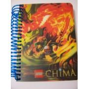 "LEGO Chima Mini Pocket Journal ~ Longtooth of the Crocodile Tribe (5.5"" x 3.5""; 200 Sheets, 400 Page"