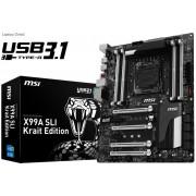 MSI Intel X99A SLI Krait X99 Chipset LGA 2011-v3 Motherboard
