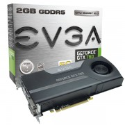 Видеокарта nVidia EVGA e-GeForce GTX760 GDDR5 2GB, REF, 2xDVI,HDMI,DP, 02G-P4-2763-KR
