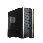 SilverStone RV03B-W Case PC Big Tower Raven 3 con Finestra, Nero