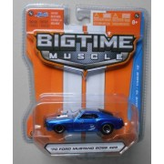 Jada Bigtime Muscle 1/64 Blue 70 Ford Mustang Boss 429