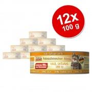 MAC's Ekonomipack: 12 x 100 g MACs Cat Gourmet - Anka & kanin