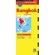 Bangkok Travel Map by Periplus Editors