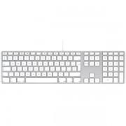 Tastatura cu fir / Keyboard Apple USB cu taste numerice INT, mb110z/b