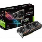 Placa video Asus GeForce GTX 1070 ROG Strix OC 8GB DDR5 256Bit Bonus Bundle Nvidia Gears of + Bundle Asus Mafia 3 + Mouse Pad Newmen MP-240