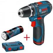 Aku bušilica Bosch Professional GSR 10,8-2-LI Aku lampa GLI PocketLED