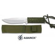 Couteau militaire 20cm full tang - poignard acier