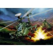 Italeri 510000863 - Modellino AH-64 D Apache Longbow, in scala 1:48