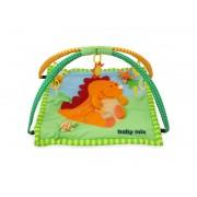 Covoras de joaca pentru bebelusi Baby Mix 3196C Dino