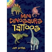 Mini Dinosaurs Tattoos by Jan Sovak