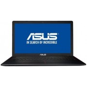 "Laptop ASUS F550VX-DM641 (Procesor Intel® Core™ i7-7700HQ (6M Cache, up to 3.80 GHz), Kaby Lake, 15.6""FHD, 8GB, 1TB@7200RPM, nVidia GeForce GTX 950M@4GB, Negru) + Panda Anti-Virus PRO, 1 PC, 1 An + Licenta Android"