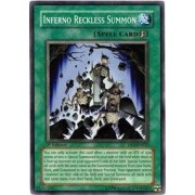 Yu-Gi-Oh! - Inferno Reckless Summon (DP2-EN025) - Duelist Pack 2 Chazz Princeton - 1st Edition - Super Rare by Yu-Gi-Oh!