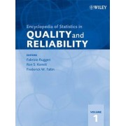 Encyclopedia of Statistics in Quality and Reliability by Fabrizio Ruggeri