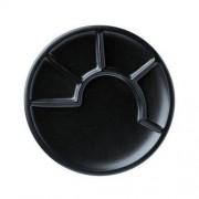 Spring (Germany/Switzerland) talerze do fondue czarne (6 sztuk, średnica 23 cm) firmy SPRING