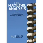 Multilevel Analysis by Tom A. B. Snijders