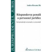 Raspunderea penala a persoanei juridice - Andra-Roxana Ilie