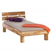Massief houten bed AresWOOD - 90 x 200cm - Eikenhout, Ars Natura