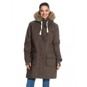 Roxy Road Trip - Parka - Manches Longues - Femme - Marron (Major Brown) - Fr: 38 (Taille Fabricant: M)