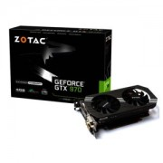 Placa video Zotac GeForce GTX 970, PCI Express 3.0, 1076 (1216)/7010 MHz, 4GB GDDR5, 256-bit, 2x DVI, HDMI, DP, ZT-90101-10P