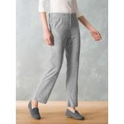 Walbusch Nicki Homewear-Hose Grau 38
