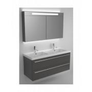 Ansamblu mobilier Riho cu lavoar ceramic 120cm gama Bellizzi, SET 26 Standard