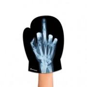 Luva de Cozinha Raio X da Mão Dedo do Meio