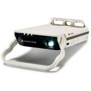 Videoproiector Aiptek MobileCinema i60, 70 lumeni, 640 x 480, Contrast 1000:1 (Alb)