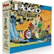 Pogo: Complete Syndicated Comic Strips Box Set Vol. 1-2 by Walt Kelly