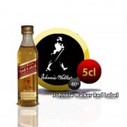 Botella miniatura whisky Johnnie Walker E/R