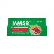 Iams Proactive Health Adult With Lamb & Rice Pate Canned Dog Food, 13-oz, case of 6
