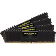 Memorii Corsair Vengeance LPX Black DDR4, 4x4GB, 2133 MHz, CL 15