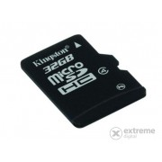 Card memorie Kingston microSDHC 32GB Class4 + adaptor SD