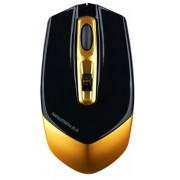 Mouse Newmen Wireless Gaming F600 Nightingale (Negru/Auriu)