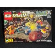 Lego System Rock Raiders Crew 4930 38 Pieces