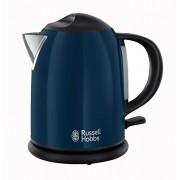 Russell Hobbs 20193-70 Bouilloire compacte 1L Collection Colours Bleu, 2200 W