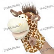 Mano Divertido Doll marionetas de peluche de juguete - Giraffe